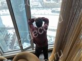 Металлические шторы для ресторана в Москва-Сити