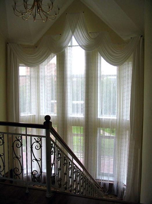 Высокие окна фото