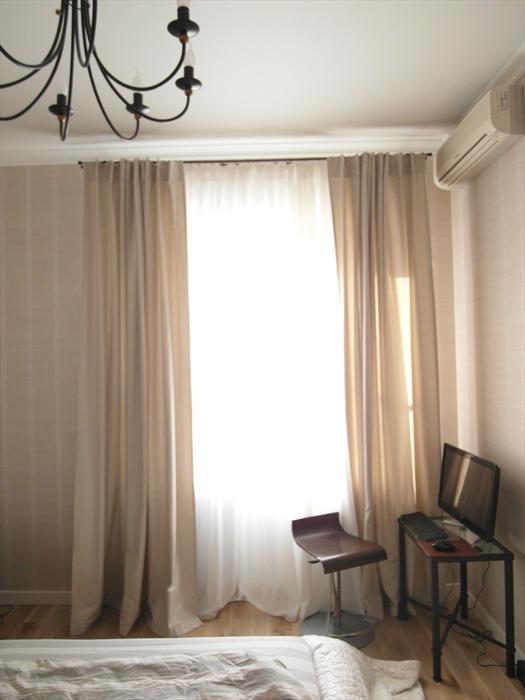 Шторы для гостиной минимализм фото