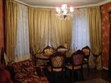 Вариант текстильного декора гостиной