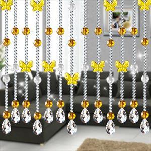 Хрустальные шторы и занавесы из стеклянных бусин на леске по индивидуальным размерам