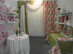 Пошив штор и занавесок из растягивающихся или провисающих тканей и кружева