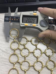 Запрос на просчет стоимости металлической сетки из колец на скрепках