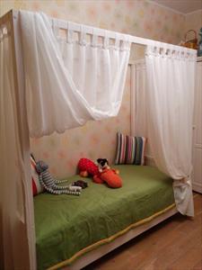 Балдахин или полог для кровати взрослой и детской