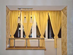 Шторы на панорамное окно, балконы и лоджии
