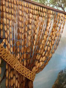 Бамбуковые шторы висюльки и деревянные дверные занавески