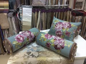 Декоративные подушки и валики