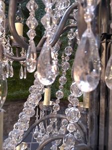 Акриловые или пластиковые нити и подвесы из бусин для декора штор-интерьера-люстры-праздничного стола