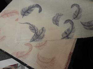 Ткани Tradescant and Son коллекция Drifting, ткань перышки
