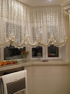 Австрийские шторы, тюли и занавески