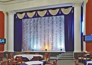 Пошив сценических и театральных штор, поплановый занавес и одежда для сцены