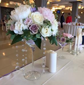 Изготовление хрустальных-стеклянных подвесов для декора праздника или интерьера