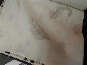 Ткани Tradescant and Son коллекция Drifting, ткань перья страуса
